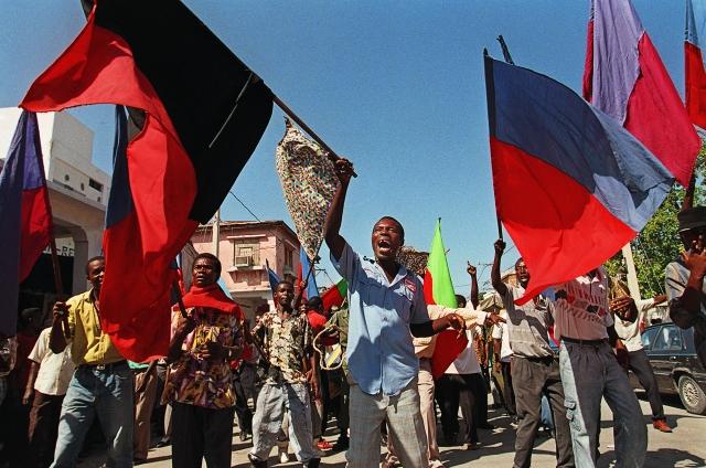 Carl Juste. Haiti Flag, 1994