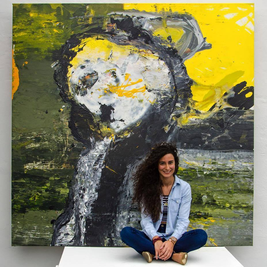 Gabriela Martinez featured at BaCA's Art Hive Thursday artists talk back.